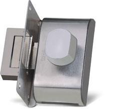 Fechadura PV90-1R-B Inox C/ Puxador