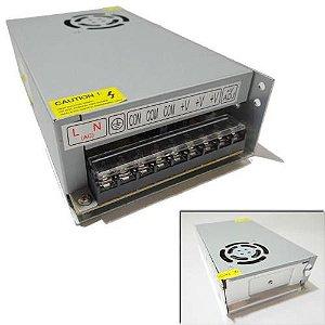 Fonte de Alimentação 12V 20 Amperes Estabilizada com Cooler - 110/220V