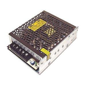 Fonte de Alimentação Bivolt 110/220V Chaveada com 12V 5 Amperes