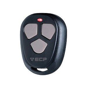 Controle Remoto Transmissor ECP Fit Frequência 433.92mhz Preto 3 Botões