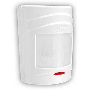 Sensor de Alarme Infravermelho Passivo Pet 20Kg Interno Com Fio- JFL IRPET 500