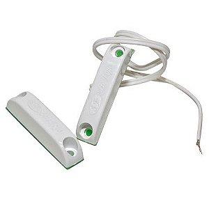 Sensor de Abertura Magnético Sobrepor Com Fio- Alarme