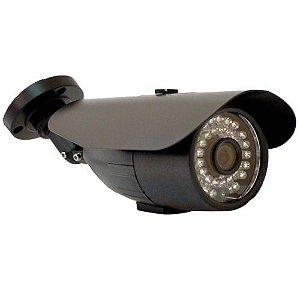 Câmera Segurança Ccd Analógica 800 Linhas Infravermelho 30 Metros 24 Leds- Ircut