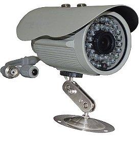 Câmera de Monitoramento 1/3 800 linhas Infravermelho 30/40 Metros