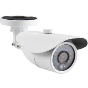 Câmera de Vigilância Infravermelho Ircut 25 Metros 960H HDIS 1/4 850 Linhas Branca
