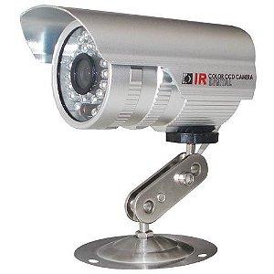 Câmera de Segurança 1000 Linhas com Infravermelho até 30 Metros Ccd Analógica- Promoção