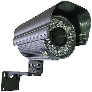 Câmera de Segurança Infravermelho até 60 Metros 72 leds 8mm Ccd Sony 720 Linhas