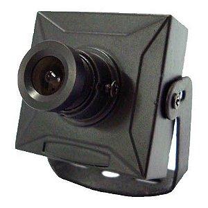Micro Câmera Analógica CCD 1/3 500 Linhas Colorida 3,6mm