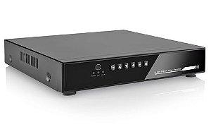 Dvr Stand Alone 4 Canais AHD-M Híbrido 960P Alta Definição P2P Nuvem - Multilaser