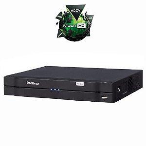 Dvr Stand Alone Intelbras Multi HD 8 Canais acesso imagens via Internet saída HDMI