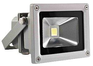 Refletor de Led Branco 10 Watts 110/220V