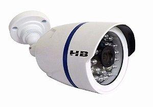 Câmera de Monitoramento AHD 1.0 Megapixel de resolução 24 leds infravermelho