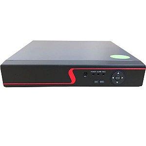 DVR Stand Alone 4 Canais Multi HD 5 em 1 Alta definição - Acesso via Celular