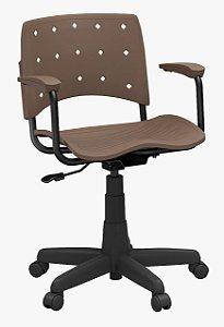 Cadeira Secretária giratória Linha ErgoPlaxMais Plaxmetal