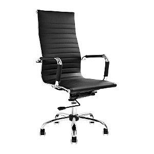 Cadeira de Escritório Presidente Charles Eames Preta