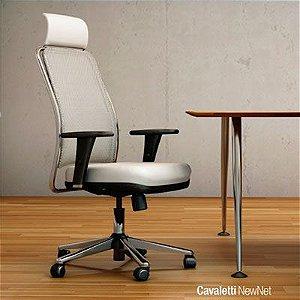 Cadeira para Escritório Presidente Cavaletti NewNet 16001E