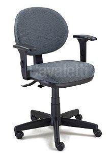 Cadeira Cavaletti Giratória Executiva Linha Start 4064 SRE Back System Com Braços
