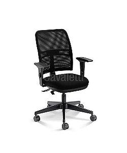 Cadeira Executiva NewNet 16003 SL - Base Nylon - SRE - Cavaletti