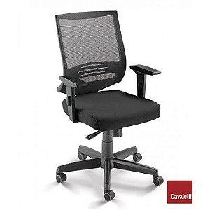 Cadeira Air 27001 - Syncron - Braços SL - Base Polâina - Cavaletti