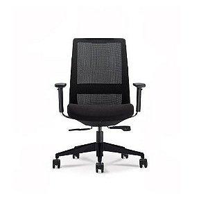 Cadeira Diretor C4 29001 - Syncron - Braços 3D - Base Nylon - Cavaletti