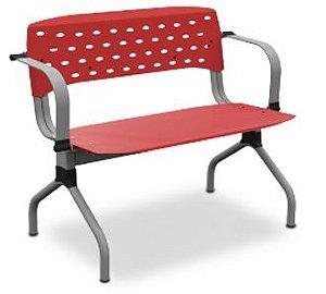 Cadeira Fixa Obeso 35010 1L - Extra (250 Kg) - c/ Braço