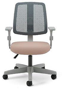 Cadeira Giratória Executiva Flip Light Tela Cinza 43503 Cavaletti