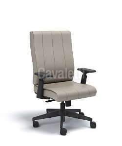 Cadeira Diretor Giratoria Essence - Syncron - Base Nylon, Braços 4D - Cavaletti 20502
