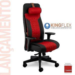 Cadeira Gamer Way - Presidente 19900 AC - Syncron -Apoio de Lombar - Regulagem Profundidade do Assento - BRAÇO 4D - Base Nylon Cavaletti
