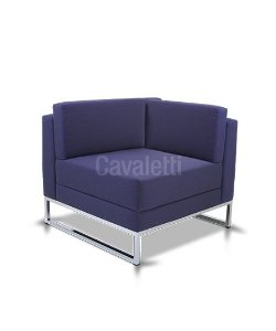 Poltrona Modular Cavaletti Connect 36205 Canto