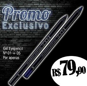 Promo Exclusivo / Gel Eyepencil nº01 / Gel Eyepencil nº05
