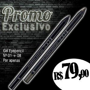 Promo Exclusivo / Gel Eyepencil nº01 / Gel Eyepencil nº08