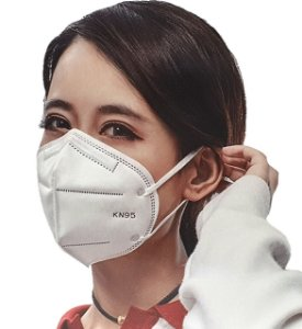 Máscara Descartável Kn95 - 5 camadas