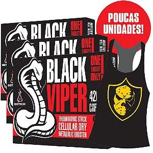 PROMOÇÃO! Compre 3 unidades de Black Viper e ganhe 1 Regata exclusiva!