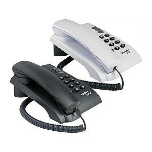 TELEFONE INTELBRAS PLENO PRETO OU BRANCO OU PRETO C/FIO
