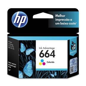 CARTUCHO HP F6V28AB TINTA COLOR (2 ML) HP664