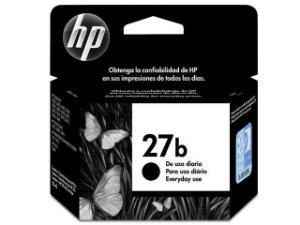 CARTUCHO HP EVERYDAY C8727BB 27B TINTA PRETO(11 ML) HP27B