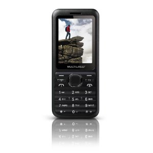 CELULAR MULTILASER VIEW 2 CHIP P3266 - CINZA