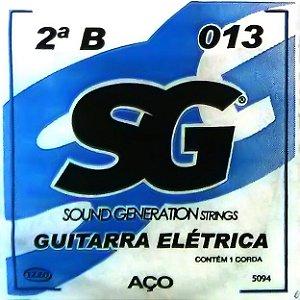 """ENCORDOAMENTO P/GUITARRA (010) AVULSA 3A """"G"""" SG5095 SG"""