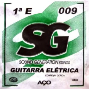 """ENCORDOAMENTO P/GUITARRA (009) AVULSA  1A """"E""""- SG5139"""