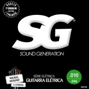 ENCORDOAMENTO P/GUITARRA (010) - SG5198 SG