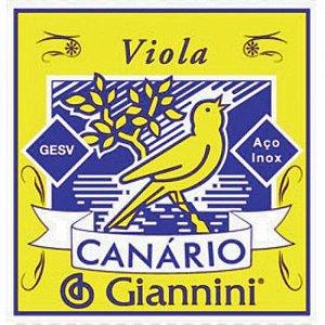 ENCORDOAMENTO P/VIOLA ACO CANARIO GESV GIANNINI