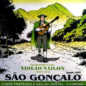 ENCORDOAMENTO P/VIOLAO NYLON IZ0075 (C/6 CORDAS) SAO GONCALO
