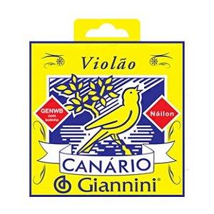 ENCORDOAMENTO P/VIOLAO NYLON C/BOLINHA GENWB GIANNINI
