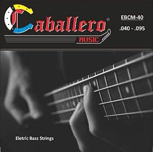 ENCORDOAMENTO P/BAIXO 4 CORDAS (040) EBCM CABALLERO