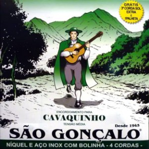 ENCORDOAMENTO P/CAVAQUINHO IZ0131 (C/5 CORDAS+1 PALHETA) SAO GONCALO