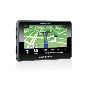 "GPS 4.3"" TRACKER S/TV GP033 MULTILASER"