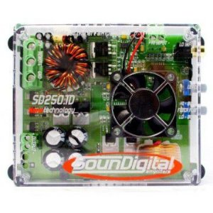 MODULO SOUNDIGITAL SD250.1D 250W 1 CANAL