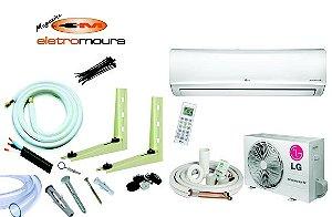 Peças p/instalação de ar condicionado