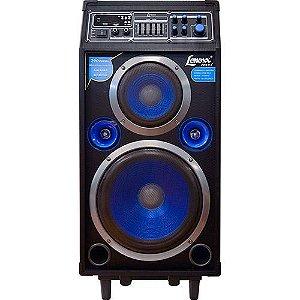 CAIXA AMPLIFICADORA MULTIUSO CA316 LENOXX 200W /USB/SD/KARAOKE/MICROF S/ FIO