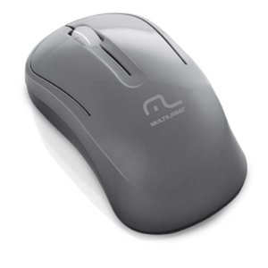 MOUSE S/ FIO 2.4 GHZ ECO GRAFITE USB MO174 MULTILASER